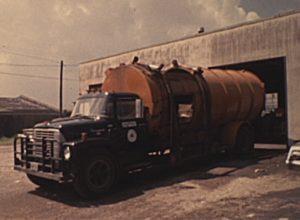 KHOU-TV, September 16: Galveston Garbage