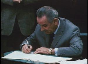 October 22: LBJ Signs Gun Control Act of 1968